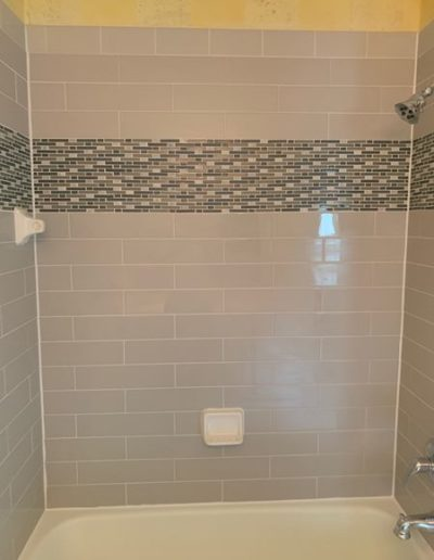 SHOWER TILE REPLACEMENT