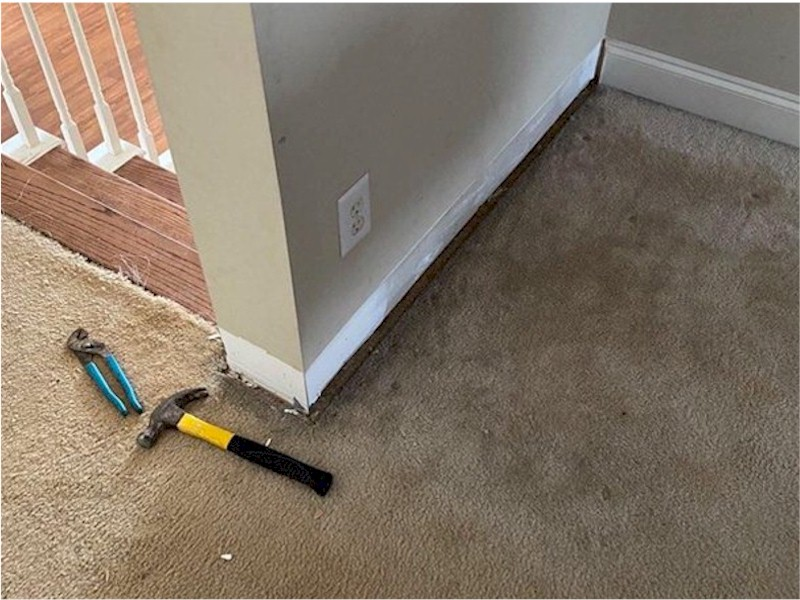 Before-Baseboard Replacement